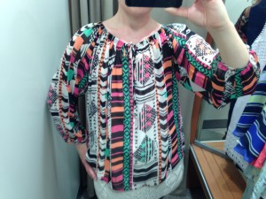 Next Aztec Blouse